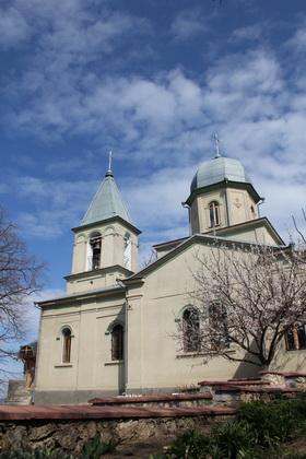 Biserica din exterior
